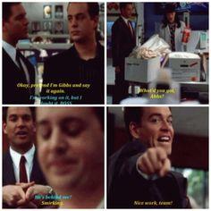 Tony channeling Gibbs - NCIS