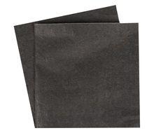 Χαρτοπετσέτες Μαύρες Ανάγλυφο Σχέδιο 33x33 - 20 τμχ.