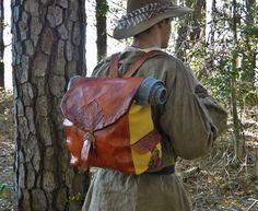 Bilbo Baggins Backpack by FolkOfTheWoodCrafts on Etsy