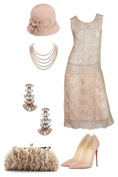 """Roaring 20s"" by dprice15 ❤ liked on Polyvore featuring Monsoon, Sole Society, DaVonna and Christian Louboutin"
