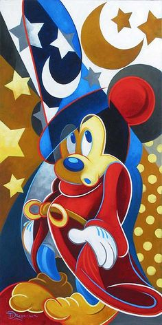 Sorcerers Moments - The Art of Disney Fine Artist Tim Rogerson