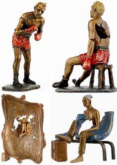 Escultura de bronce: Viajar con Bruno Catalano | urbanista