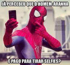 Homem-Aranha malandrão! http://www.macacosespaciais.com.br/