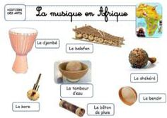 LES INSTRUMENTS DE MUSIQUE AFRICAINS La Kora, African Crafts, Cycle 3, Water Cycle, Music School, Thinking Day, Camping Gifts, Teaching French, Carnival