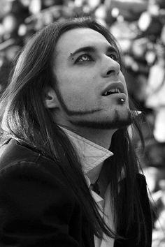 Gothic vampire guy.