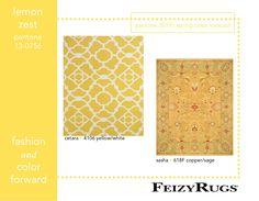 #yellow zest #Pantone #interiordesign #rugs #feizyrugs #gold #homedecor #decor