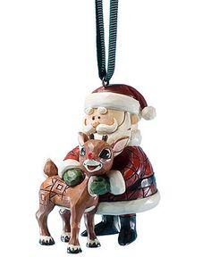 Jim Shore - Rudolph ornament