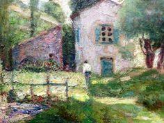 Victor Charreton   French Post-Impressionist painter