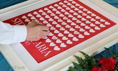 Livros de assinaturas para seu casamento: uma eterna recordação [Foto]