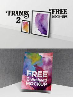 2 Free Presentation Mock-up Items