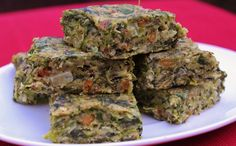Vegan Spinach Bars A more time-consuming project, so I suggest it for a weekend. They stay fresh refrigerated for a week.
