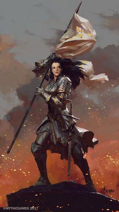 """quarkmaster: """" Demon Hunter Illustration/Concept artwork created for Diablo 3. Glenn Rane """""""