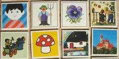 Vintage memory kaarten, 21 stuks, 1981, 5,5 x 5,5 cm, Ravensburger, karton, hobbymateriaal  [d] by LabelsAndMore on Etsy