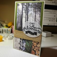 Stampin' Shimmy Style! : The Adventure Begins! -Sketch challenge