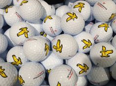 Lyle and Scott golf balls for Woolly Golf