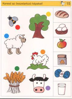 Disons EST ICI logico PRIMO Piccolo et change-Chat discussion fermeture… Preschool Learning Activities, Toddler Activities, Preschool Activities, Teaching Kids, Kids Learning, English Worksheets For Kids, Kids Math Worksheets, Farm Animals Preschool, Learning English For Kids