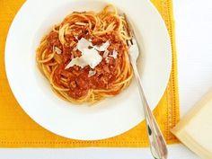 Spaghetti Bolognese Traditional recipe