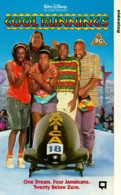 Cool Runnings...Soooo weird...I was just talking about how much I loved this movie when I was a kid...yesterday!!!