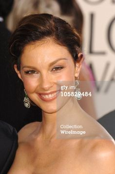 News Photo : Ashley Judd during The 62nd Annual Golden Globe...