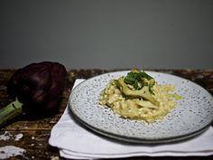 Artischocken-Risotto nach Jamie Oliver / http://piasdeli.de/Rezept/artischocken-risotto-nach-jamie-oliver/