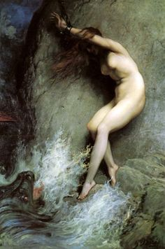 Andromeda by Gustave Dore