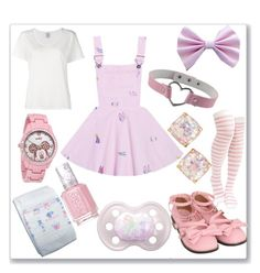 Designer Clothes, Shoes & Bags for Women Harajuku Fashion, Kawaii Fashion, Cute Fashion, Cute Outfits For Kids, Cute Casual Outfits, Pastell Goth Outfits, Girls Fashion Clothes, Fashion Outfits, Style Kawaii