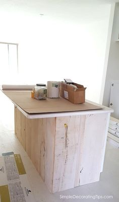 Custom Kitchen Island Feature