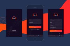 Musical App Login/Signup UI kit by theme_express Wordpress Template, Wordpress Theme, App Login, Ui Kit, Free Quotes, Mobile Design, Typography Design, Mobile App, Your Design
