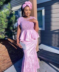 African Outfits, Peplum Dress, Unique, Dresses, Fashion, Gowns, Color, Vestidos, Moda