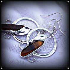 Tiger Eye earrings / SOLD /