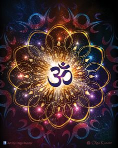The Power of Om - Sacred Geometry by Olga-Kuczer