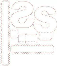 3d alphabet buchstaben basteln ausschneiden schneiden kleben 3d effekt plastisch. Black Bedroom Furniture Sets. Home Design Ideas