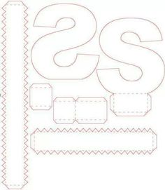 """S""; letras 3D"