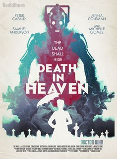 Doctor Who.S08E12 - ''Death in Heaven'' (Radiotimes poster) (Doctor Who - BBC Series) source: http://www.radiotimes.com/news/2014-11-07/exclusive-doctor-who-death-in-heaven-poster-revealed