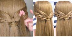 Peinado con media melena fácil y bonito paso a paso