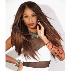 Sensationnel Live Brazilian Keratin Remi 100% Human Hair Weave Yaky