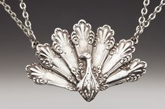 tons of great jewelry made from old silverware at this site