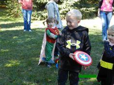 Superhero Training Camp - The training plan