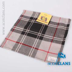 Moffat Tartan Pocket Square. Free worldwide shipping available