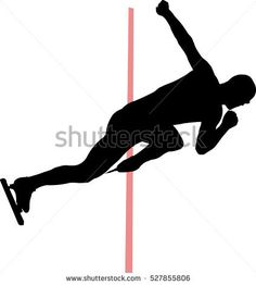 start man speed skaters vector Illustration ___ photo on Shutterstock: www.shutterstock.com/pic-527855806 ___   #explosive #motion #rink #indoors #physical #young #sport #illustrator #skate #action #background #race #red #active #cold #winter #palace #dynamic #activity #blade #start #shape #freeze #figure #athlete #muscular #silhouette #distance #vector #sprint #clap #line #black #competition