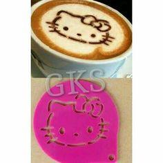 #cetakan #cofee #latte #hellokitty @ 45.000
