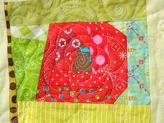 Em's Scrapbag: My Wonky Rose Garden is a Wrap Ems, Quilts, Stitch, Sewing, Garden, Full Stop, Dressmaking, Garten, Couture