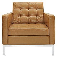 Lyte Leather Armchair Tan