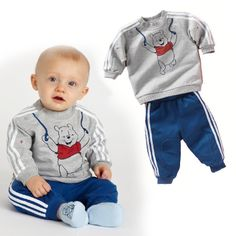 baby clothing on sale at reasonable prices, buy 2017 Spring Baby Boy Girl Clothes Long Sleeve Top Pants Sport Suit Baby Clothing Set Fashion Newborn Infant Clothing from mobile site on Aliexpress Now! Baby Outfits Newborn, Baby Boy Outfits, Children Outfits, Boys Formal Wear, Boys Wear, Stylish Little Boys, T Shirt Top, Baby Fashionista, Baby Suit
