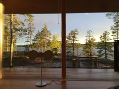 Villa K&Y @ Lake Saimaa archipelago, Savonlinna, Finland Sun Room, Archipelago, Home Living Room, Four Seasons, Ecology, Contemporary, Modern, Finland, Sustainability