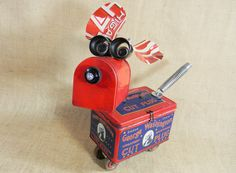 A Patriotic Robot Dog  GEORGE  The 4th  found by reclaim2fame, $249.00