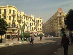 Downtown Cairo, Egypt