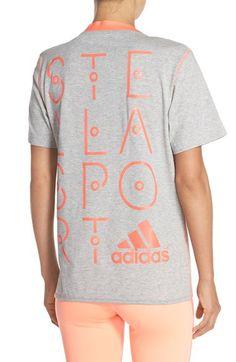 ADIDAS BY STELLA MCCARTNEY Logo Tee. #adidasbystellamccartney #cloth #