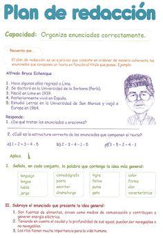 Spanish Grammar, Spanish Class, Teaching Spanish, Teaching Resources, Er 5, 4th Grade Reading, Sixth Grade, Study Tips, Acting