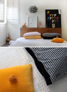i love this bed by mark tuckey (& linen by CASTLE)